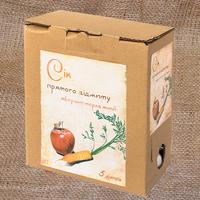 Сік яблучно-морквяний 5л